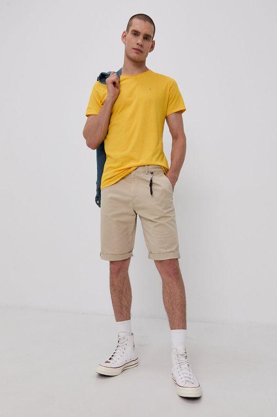Tommy Jeans - Tričko žlutá