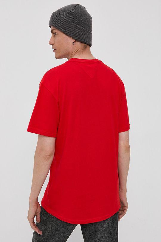 Tommy Jeans - T-shirt bawełniany 100 % Bawełna organiczna