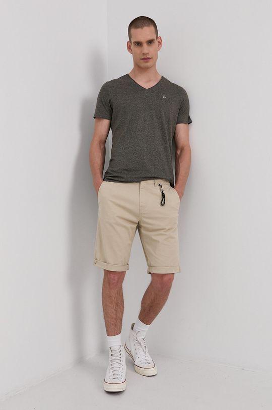 Tommy Jeans - Tričko olivová