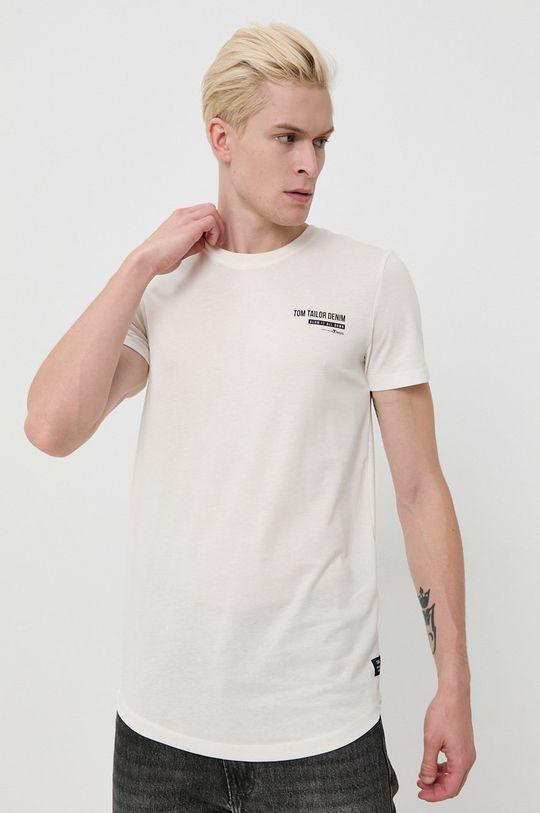 bej Tom Tailor - Tricou De bărbați