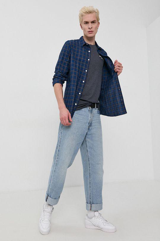 Tom Tailor - Tricou bleumarin