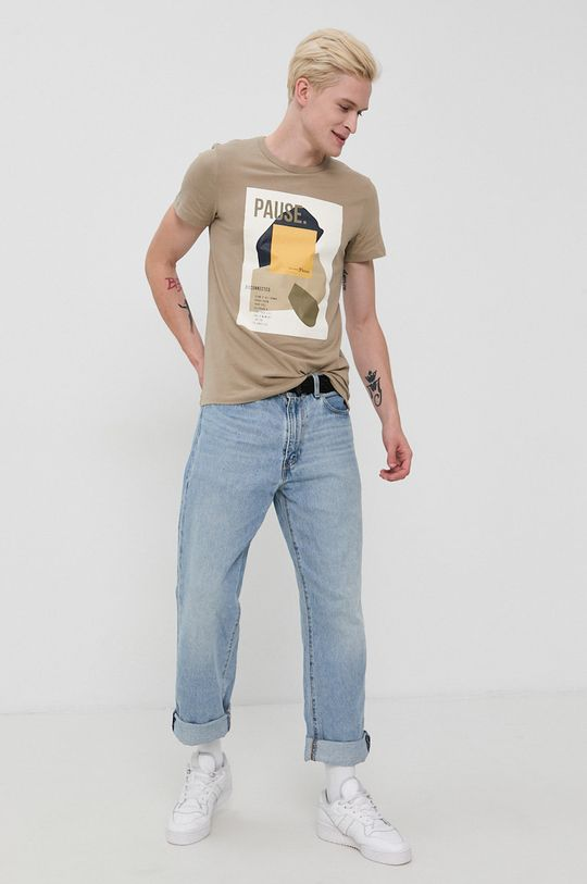 Tom Tailor - Tricou din bumbac masiliniu