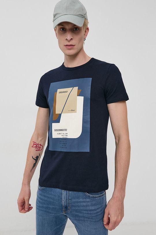 bleumarin Tom Tailor - Tricou din bumbac