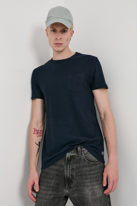 bleumarin Tom Tailor - Tricou din bumbac De bărbați