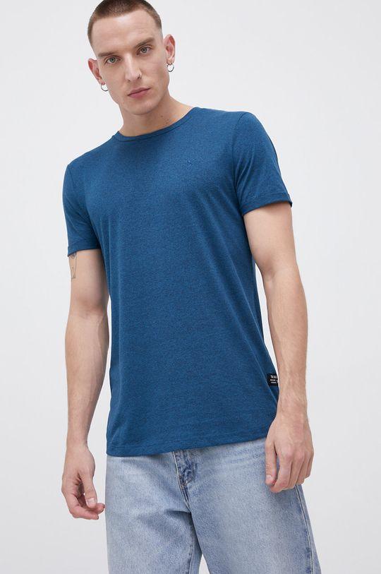 turkusowy Tom Tailor - T-shirt Męski