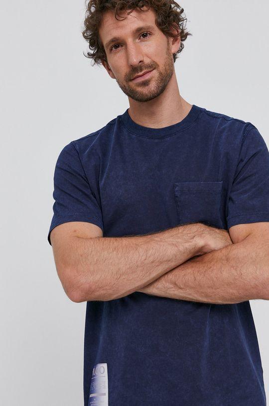 modrá Hugo - Tričko