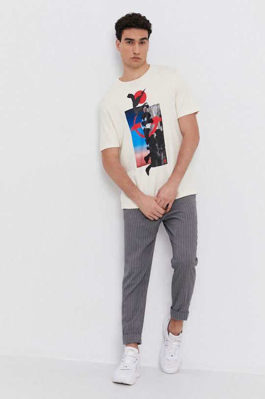 Hugo - Tricou crem