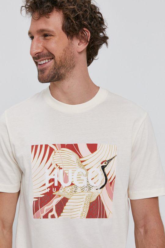 krémová Hugo - Tričko
