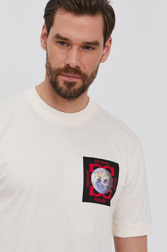 krémová Hugo - Tričko Pánsky