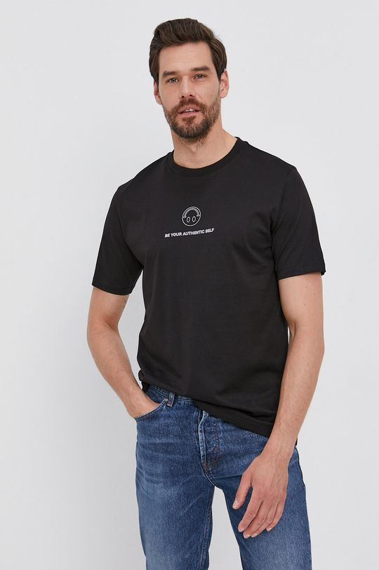 čierna Hugo - Tričko Pánsky