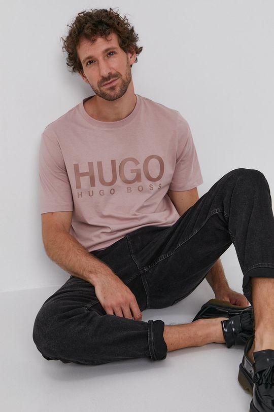 bej Hugo - Tricou De bărbați