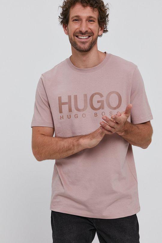 Hugo - Tricou bej