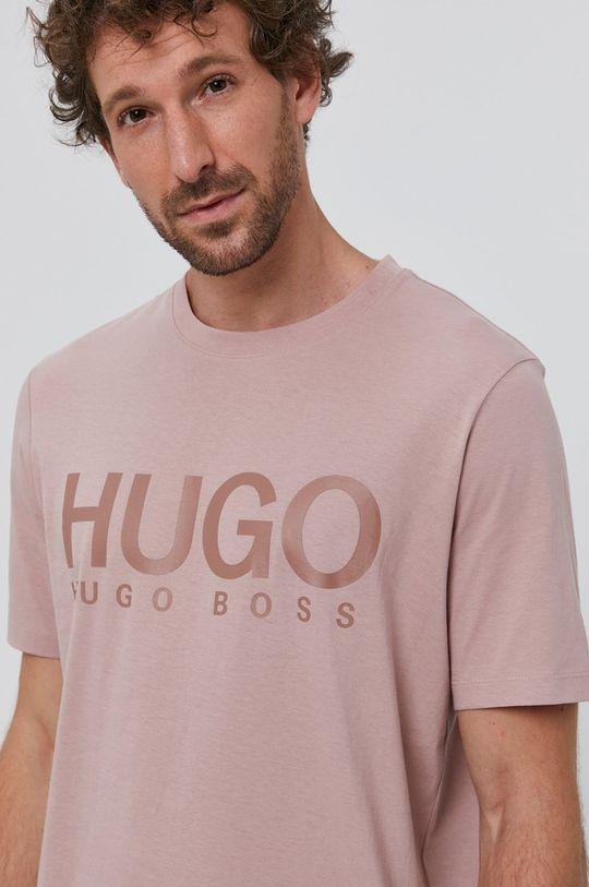 bej Hugo - Tricou