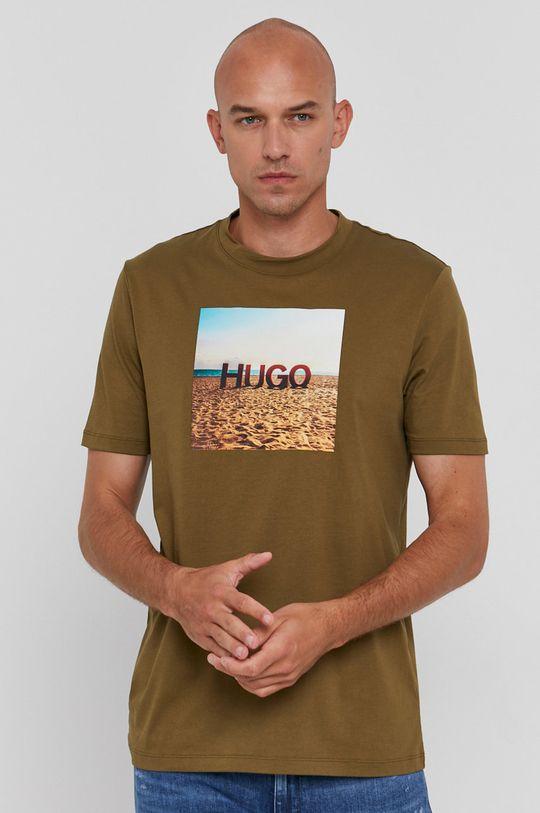 olivová Hugo - Tričko Pánský