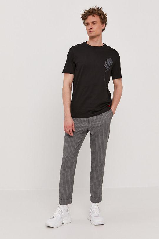Hugo - T-shirt czarny