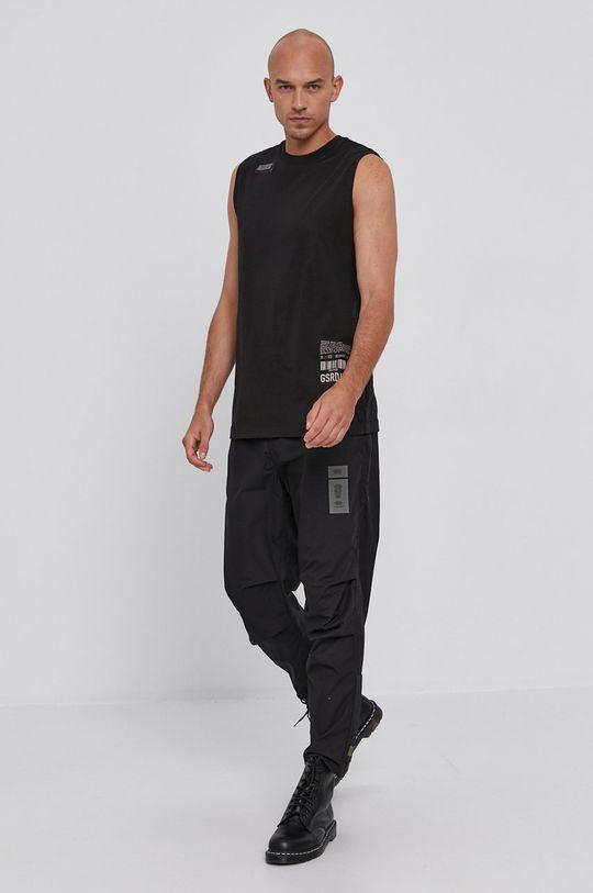 G-Star Raw - Tricou negru