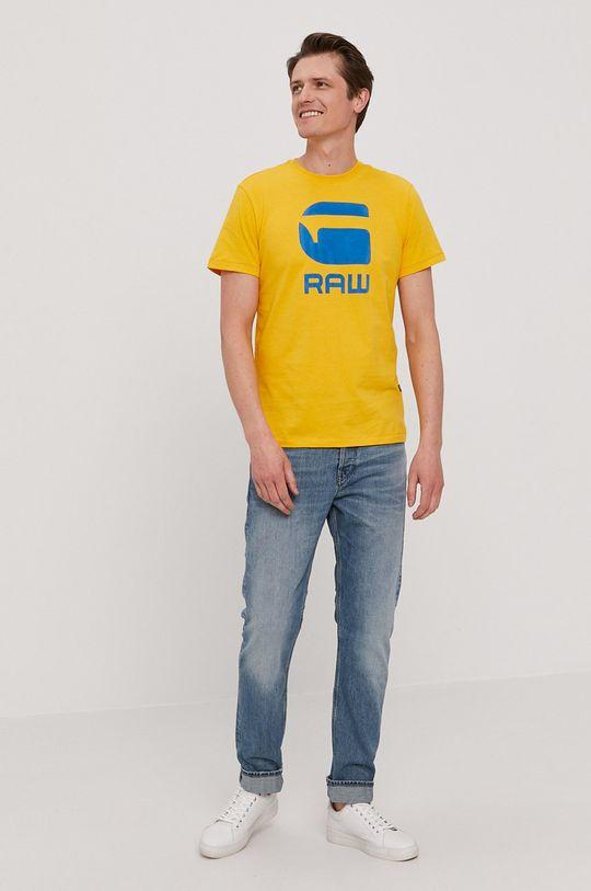 G-Star Raw - Tričko žltá
