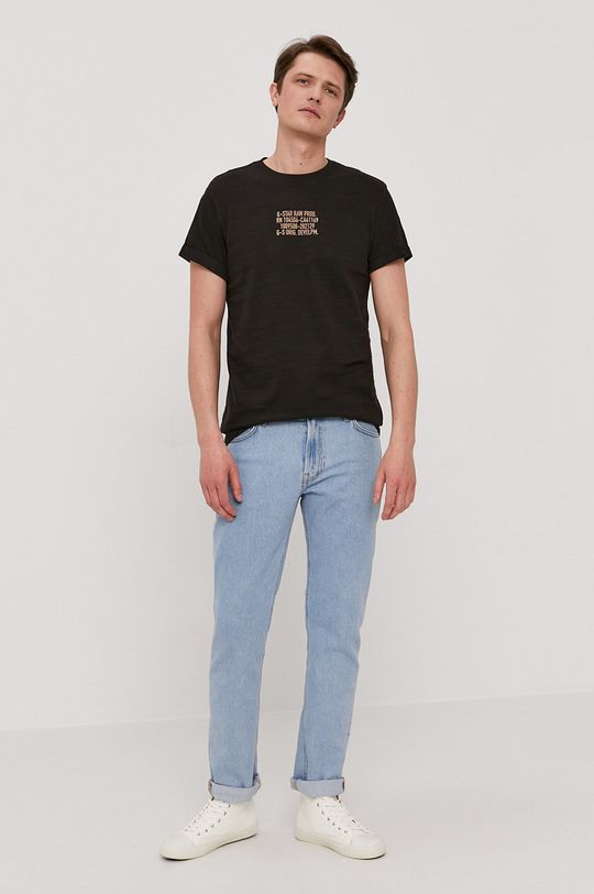 G-Star Raw - T-shirt czarny