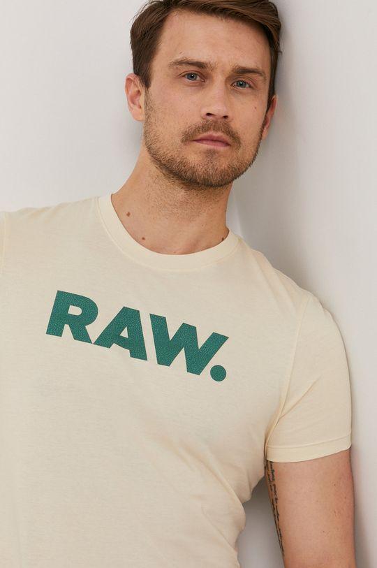 krémová G-Star Raw - Tričko