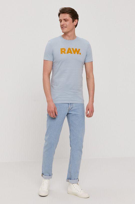G-Star Raw - Tricou albastru