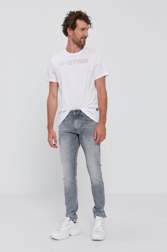 G-Star Raw - T-shirt biały