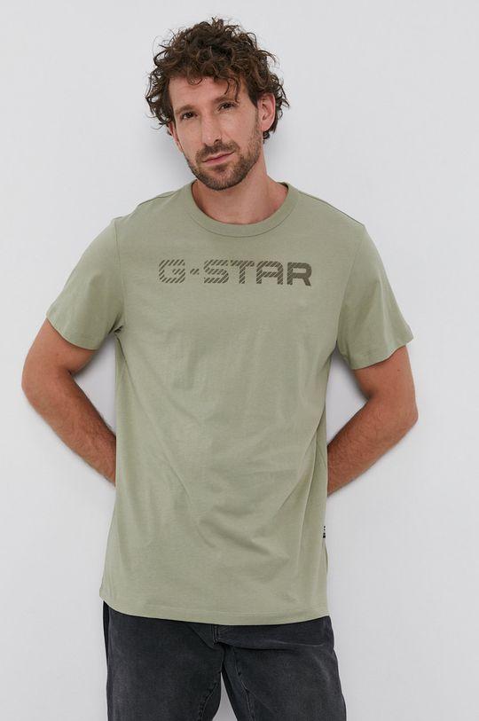 militarny G-Star Raw - T-shirt Męski
