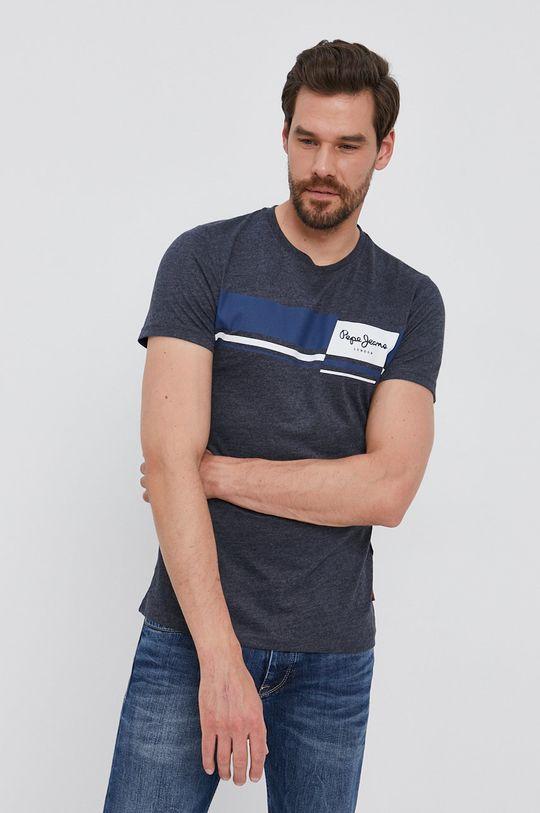 námořnická modř Pepe Jeans - Tričko KADE Pánský