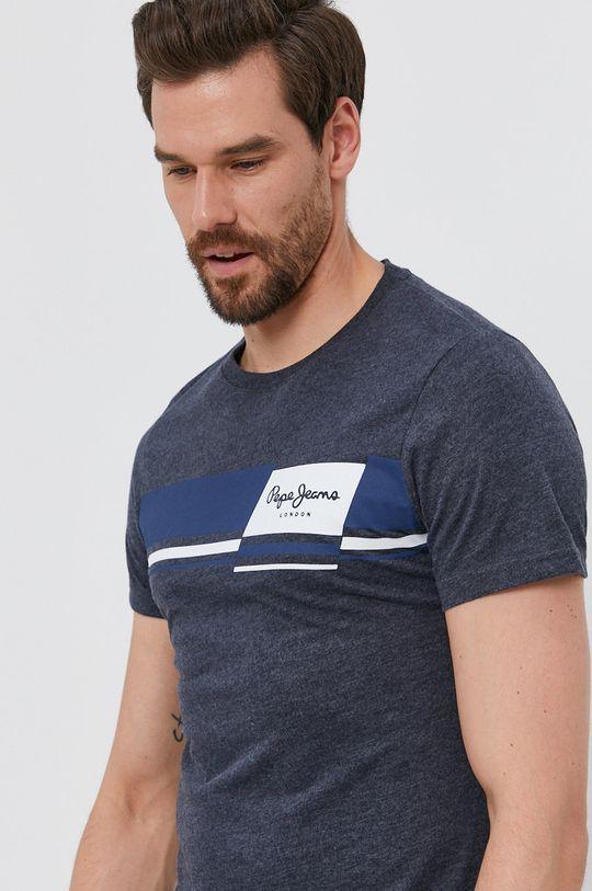 námořnická modř Pepe Jeans - Tričko KADE