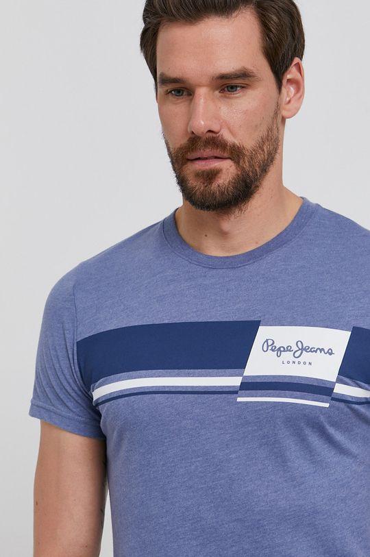fioletowy Pepe Jeans - T-shirt Kade