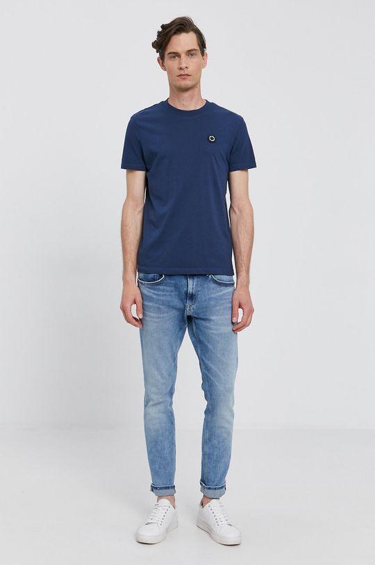 Pepe Jeans - T-shirt WALLACE granatowy
