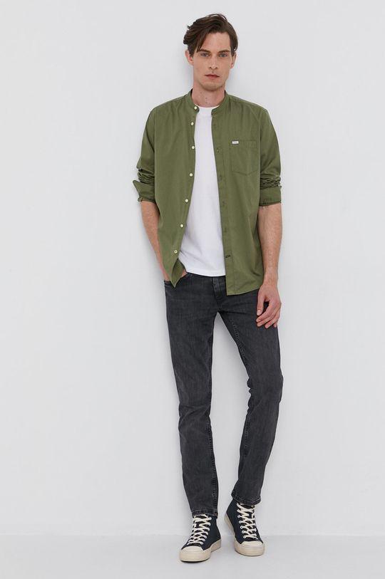 Pepe Jeans - Tričko WALLACE biela