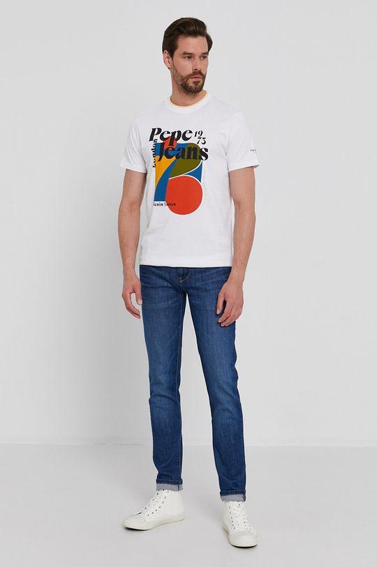 Pepe Jeans - Tričko Willy bílá