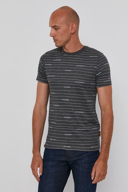 szary Pepe Jeans - T-shirt Kif