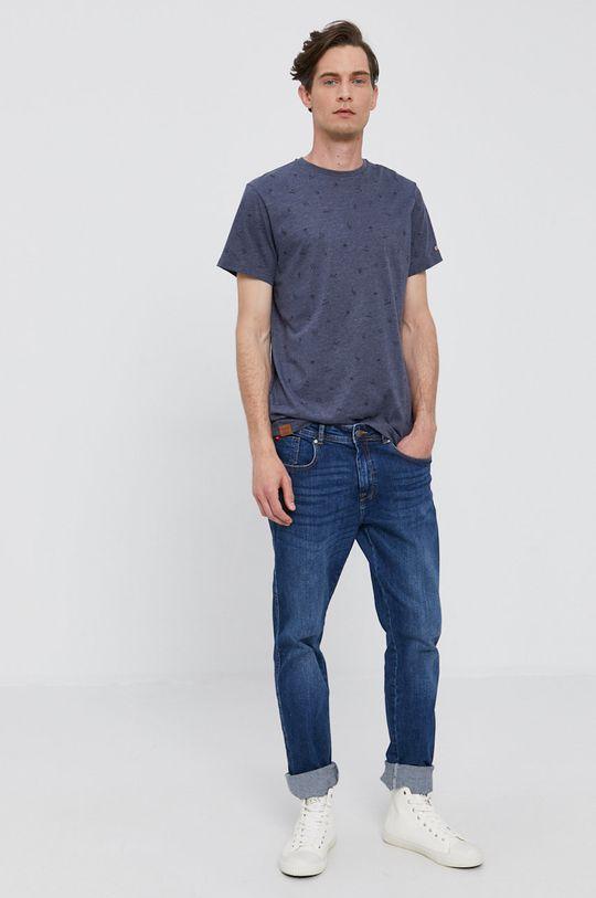 Pepe Jeans - Tričko LYNCH námořnická modř