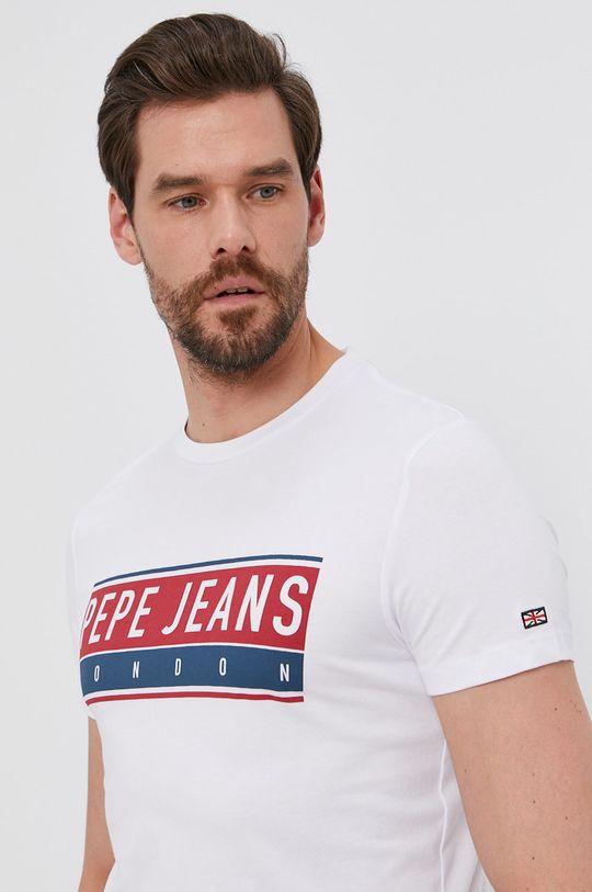 bílá Pepe Jeans - Tričko JAYO