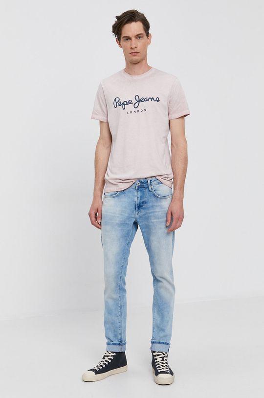 Pepe Jeans - Tričko West růžová