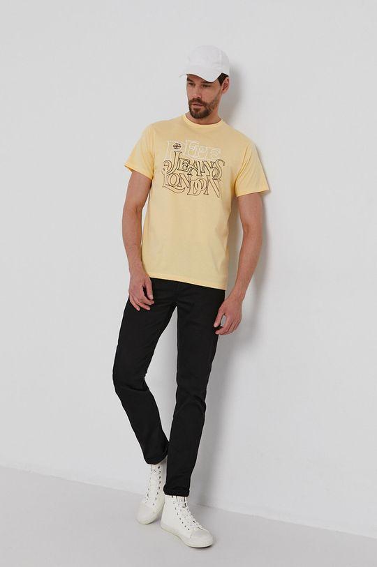 Pepe Jeans - Tričko Dubley žlutá
