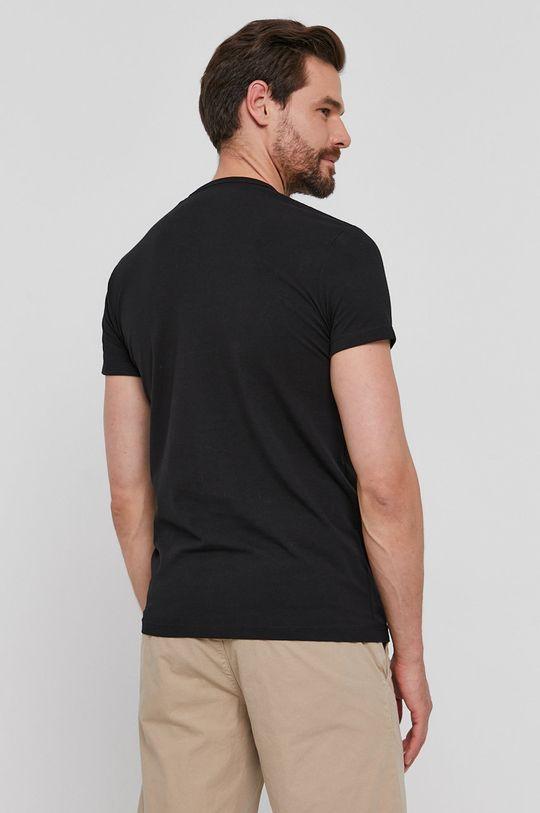 Pepe Jeans - T-shirt Basic 95 % Bawełna, 5 % Elastan