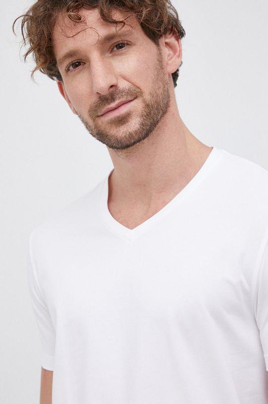 czarny Hugo - T-shirt (2-pack) Męski