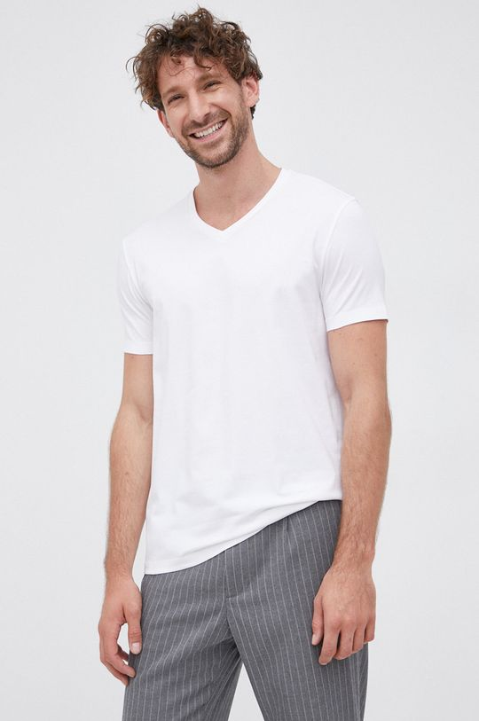 Hugo - T-shirt (2-pack) Męski