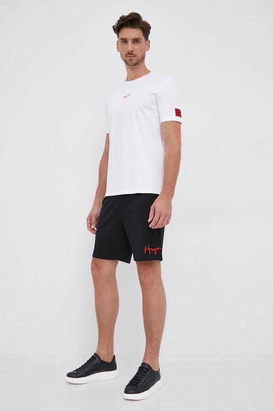 Hugo - Tricou din bumbac alb