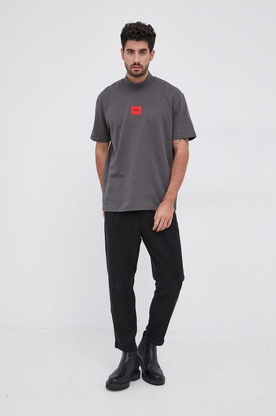 Hugo - T-shirt szary