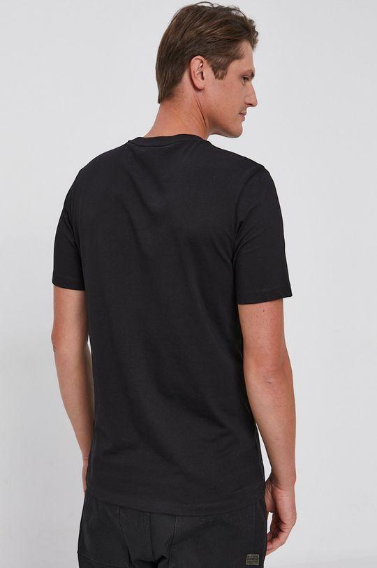 Hugo - T-shirt bawełniany Materiał zasadniczy: 100 % Bawełna, Ściągacz: 98 % Bawełna, 2 % Elastan
