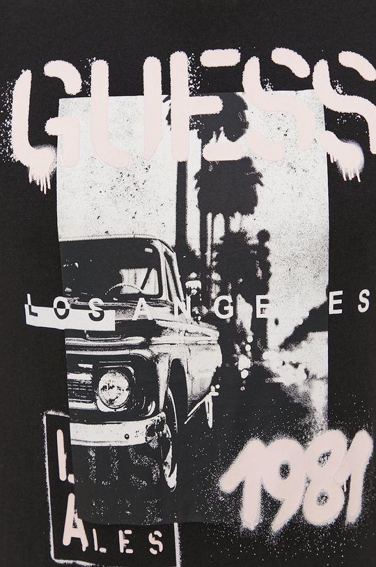 Guess - Bavlnené tričko Pánsky