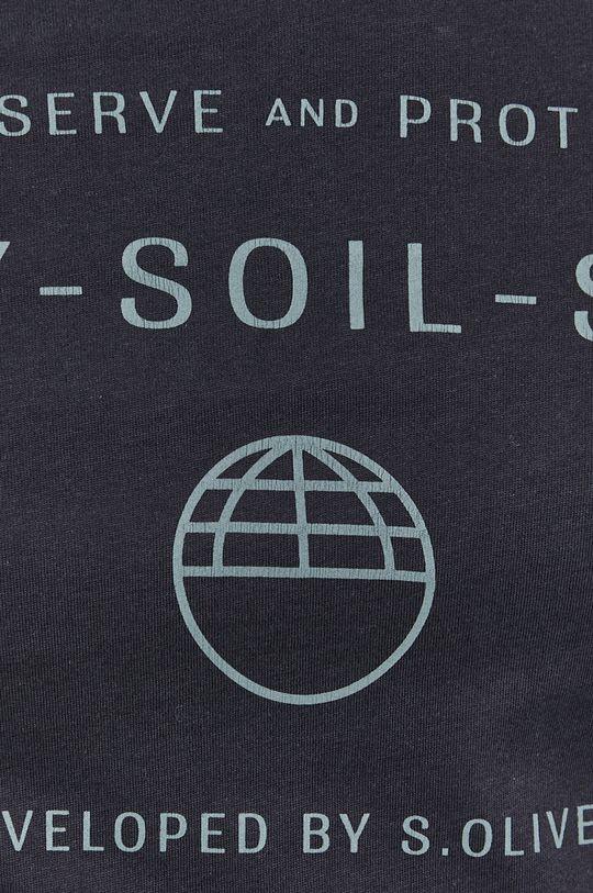 s. Oliver - T-shirt bawełniany 100 % Bawełna