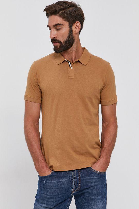 hnedá s. Oliver - Polo tričko Pánsky