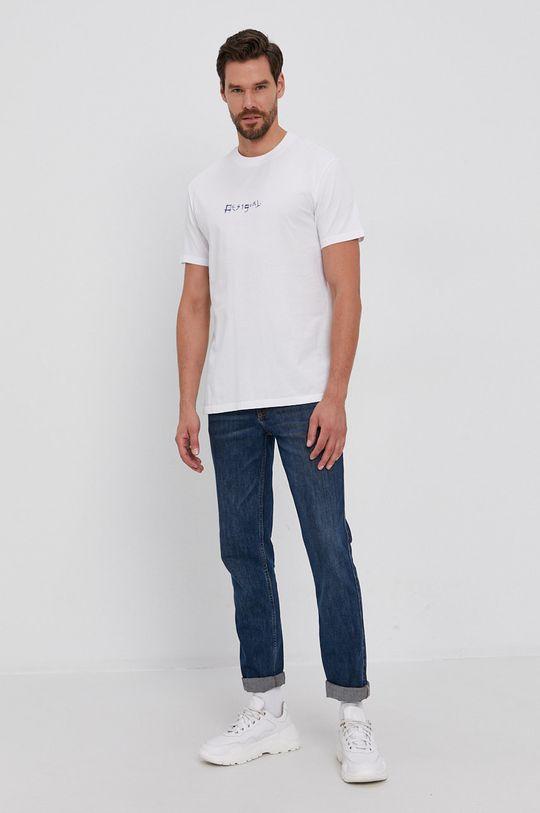 Desigual - Tricou din bumbac multicolor