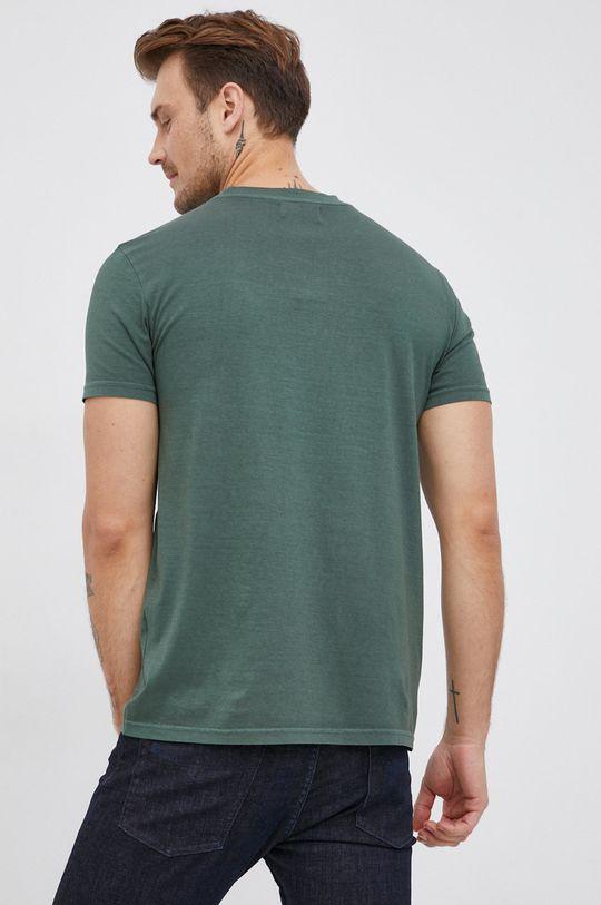 Desigual - Bavlněné tričko  100% Bavlna Pokyny k praní a údržbě:  neprat chemicky, prát v pračce při teplotě 30 stupňů, nelze sušit v sušičce, žehlit na střední teplotu