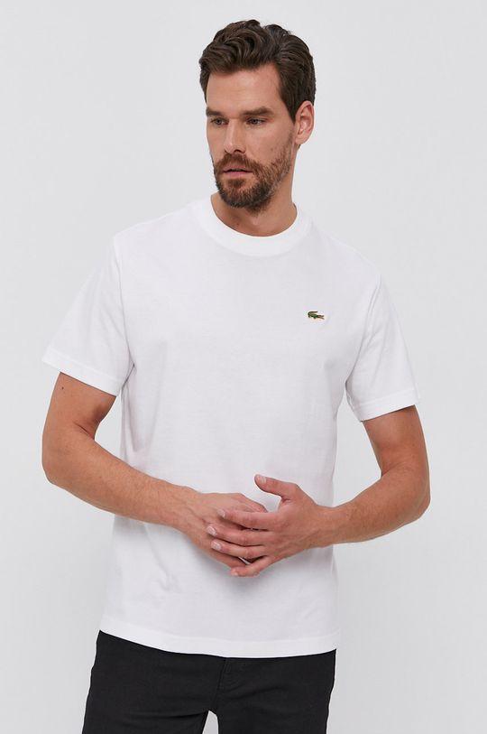 Lacoste - Tricou din bumbac alb