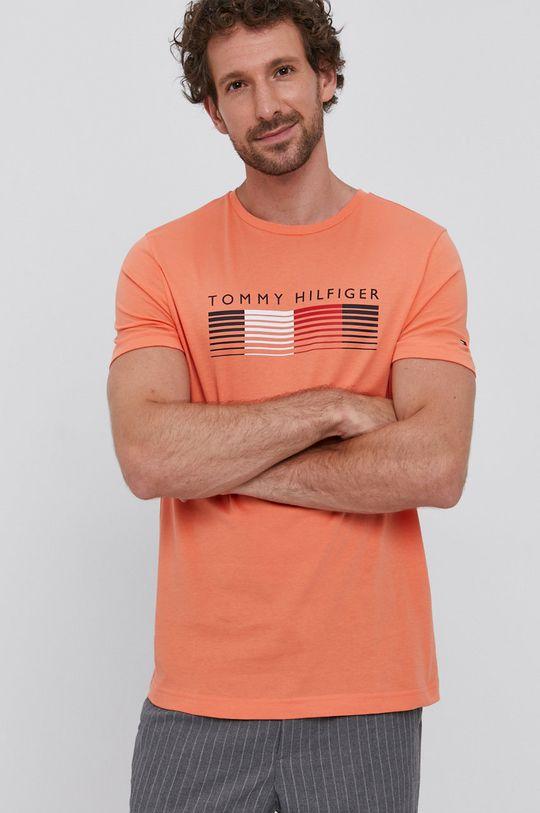 pomarańczowy Tommy Hilfiger - T-shirt
